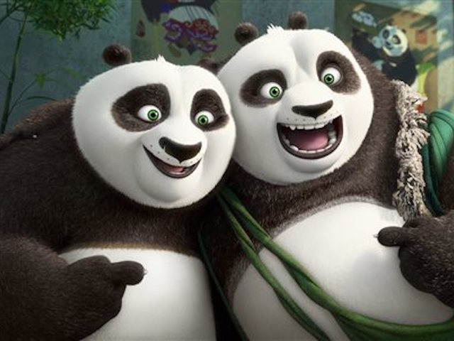 'Kung Fu Panda 3' leads on Super Bowl weekend