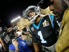 Cam Newton's stellar year ends on a sour note