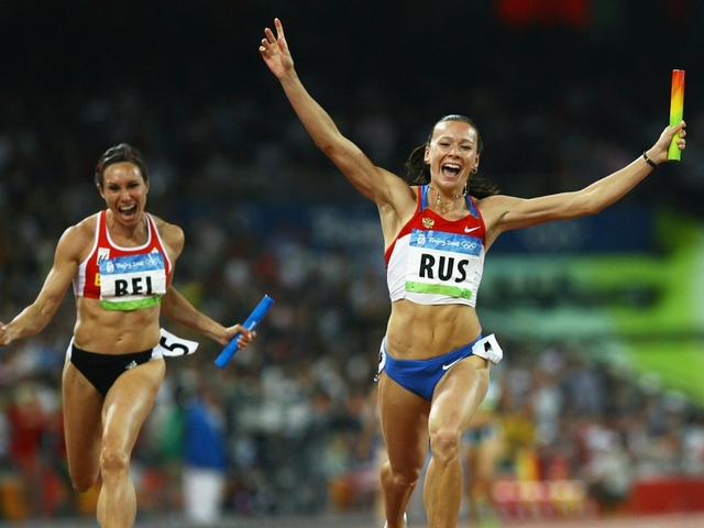 Russian Federation stripped of women's 4x100m relay gold medal from Beijing Olympics
