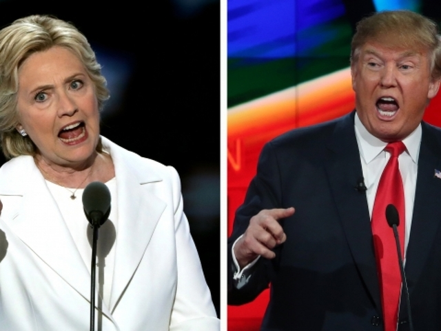 Debates to help half of USA voters decide between Clinton, Trump