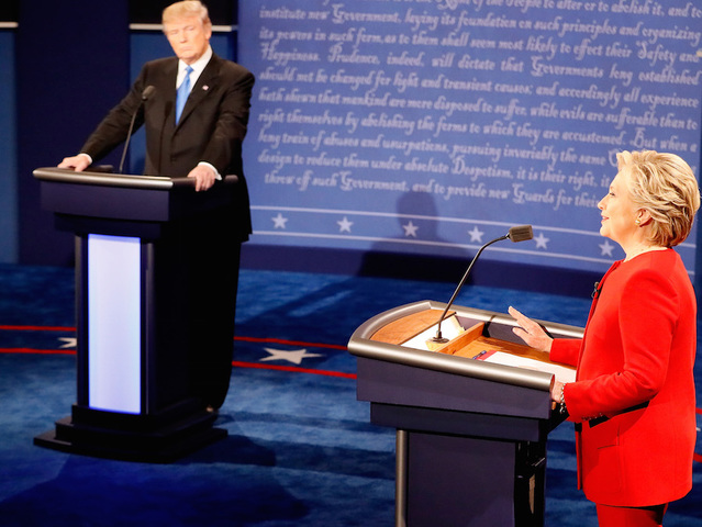 Clinton-Trump debate most watched ever