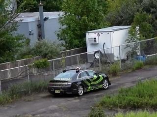 Nvidia demos new self-driving car tech