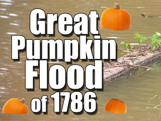 Halloween without pumpkins: Great Pumpkin Flood