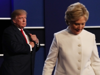 Trump won't commit to the election results