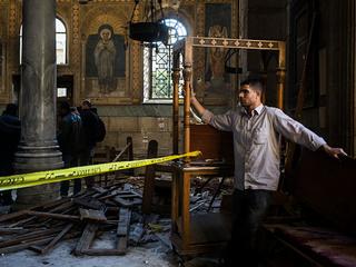 Blast near Cairo cathedral kills at least 25