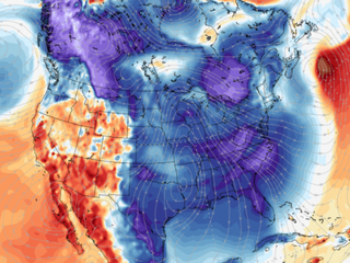 A cold blob is taking over the country