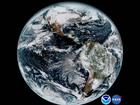 GOES-16, new satellite views Earth for 1st time