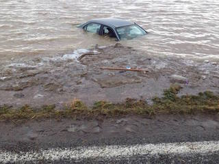 Intense flooding strands homeowners in Idaho