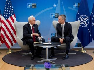 Pence reaffirms US commitment to NATO