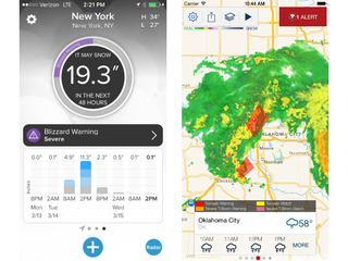 Weather apps to track the current storm system