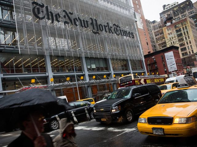 New York Times Leak Helped ISIS Boss Escape