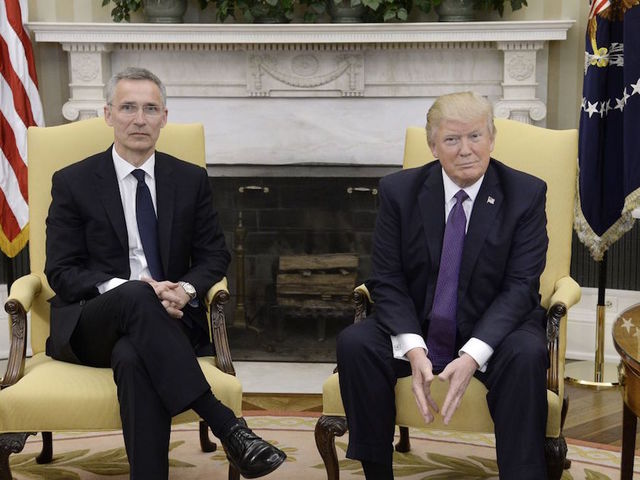 Trump reverses position, says NATO is 'no longer obsolete'