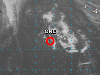 Tropical Depression One first since April 2003