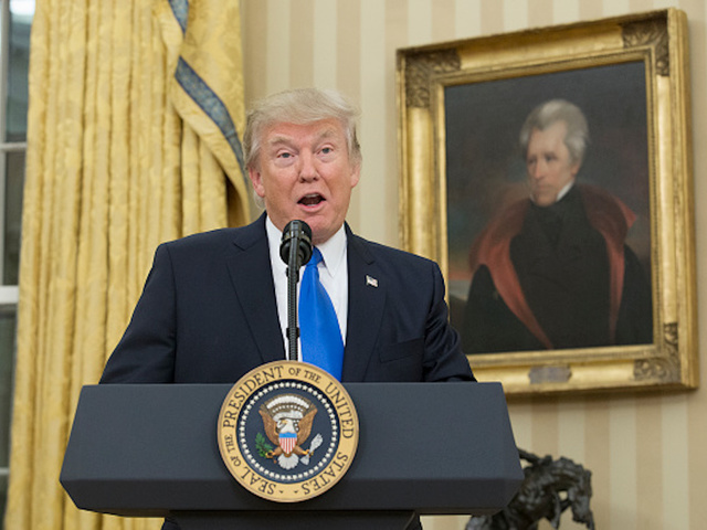 Trump quotes about Andrew Jackson and the Civil War