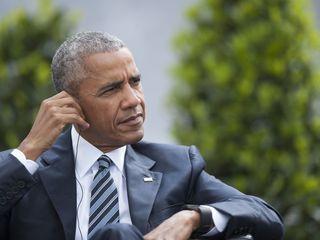 Obama throws shade at Trump in Berlin