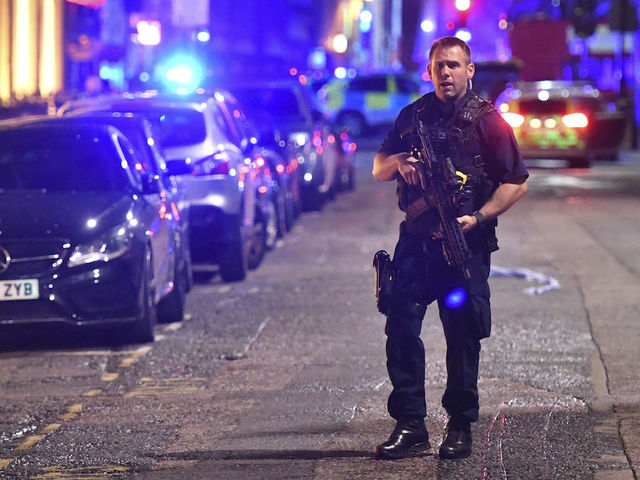 Officer wounded in London Bridge attack armed only with baton