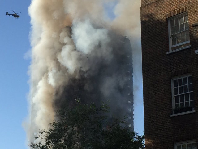 Mosques, gurdwaras and churches help survivors of London fire
