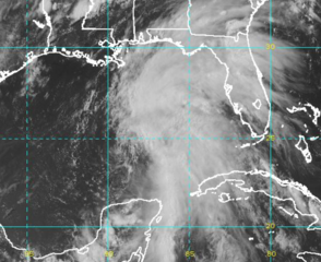 Tropical storm warnings issued in Louisiana