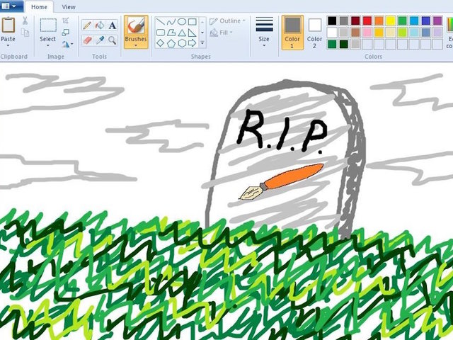 Microsoft Paint to be 'dead' soon!