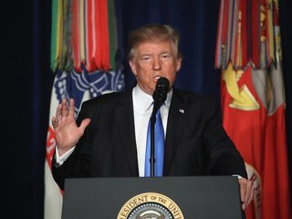 Afghanistan responds to Trump's military plans