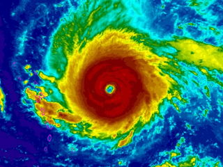 Irma is one of the strongest hurricanes ever