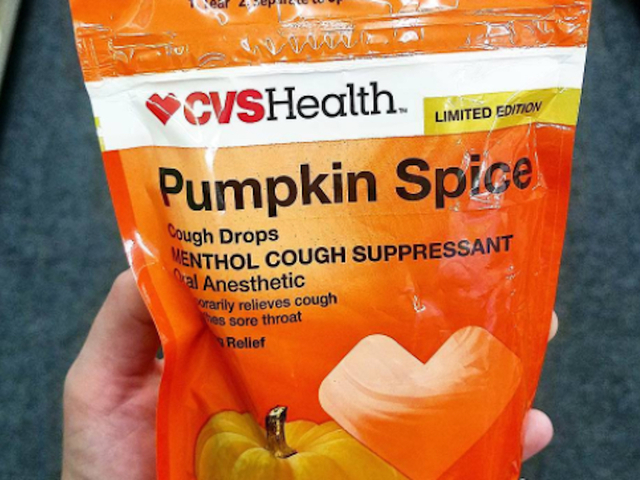 The Pumpkin Spice Craze Is Coming For Your Cough Drops""