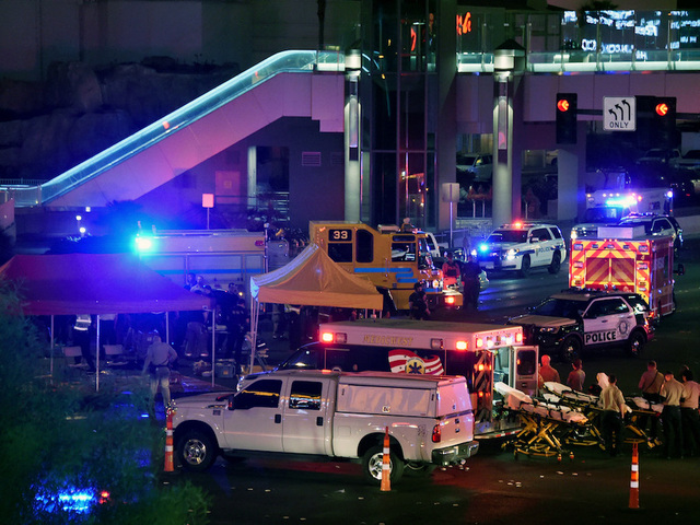 Vegas massacre: 406 taken to hospitals