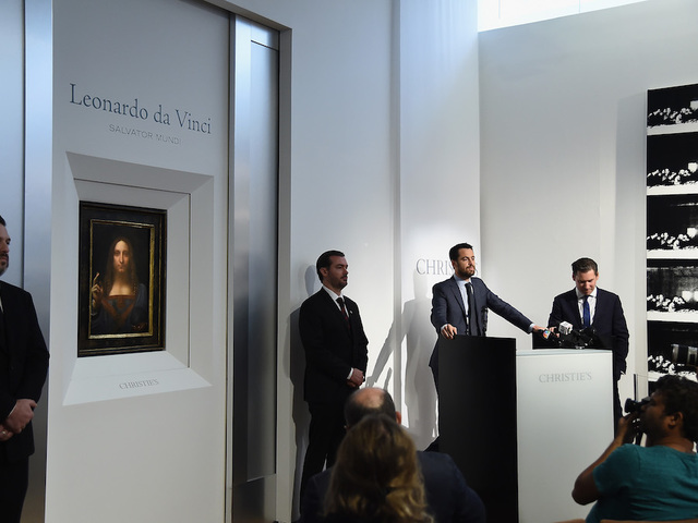 Da Vinci portrait of Christ expected to fetch $100 million at auction