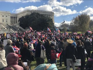DC holds march for Puerto Rico