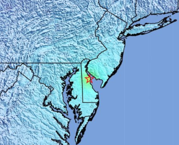 Dover residents shaken after area was rocked by quake